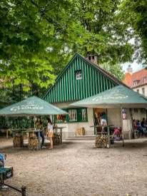 Englischer Garten coffee shop