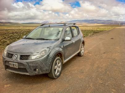 4WD rental car in Salta province