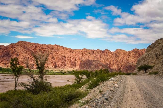 Calchaqui Valley canyon