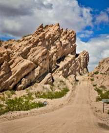 roadway Quebrada de las Flechas