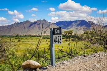 Milemarker Ruta 40 Salta