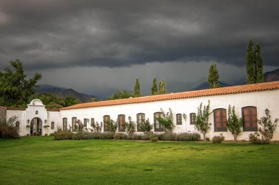Storm approaching Patios de Cafayate