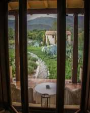 Estancia Colomé window view