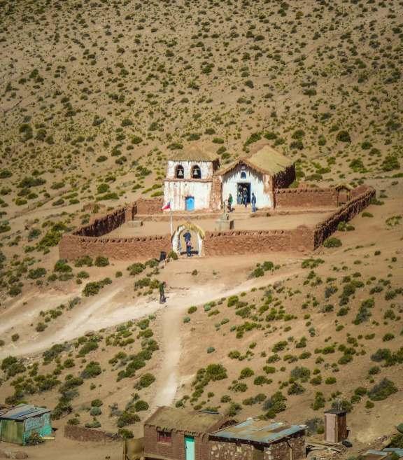 pueblo near El Tatio
