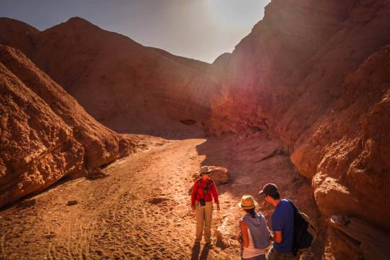 exploring Devil's Canyon Atacama