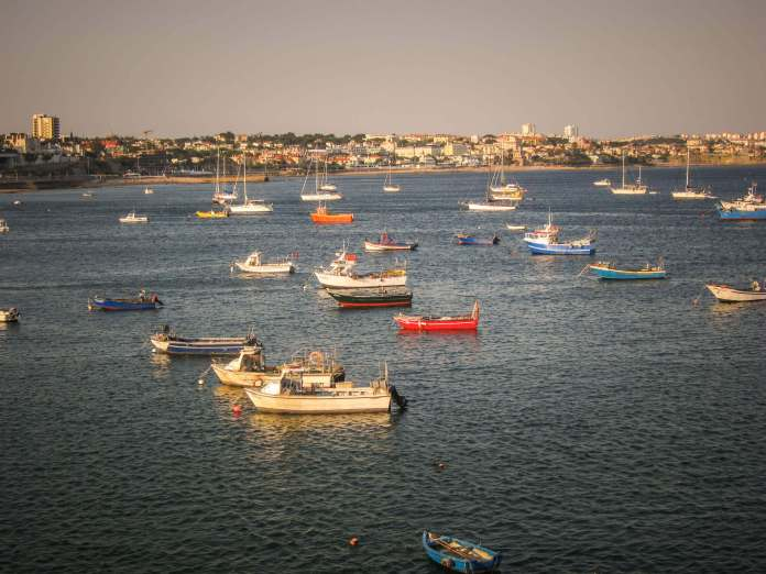 Cascais fishing boats