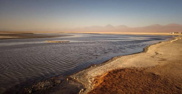lagoon Salar de Atacama