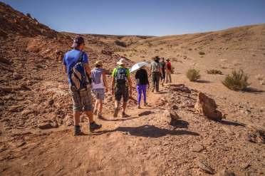 hiking Devil's Canyon Atacama