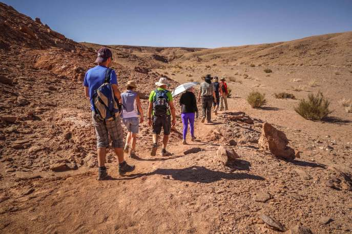 hiking Devil's Canyon Atacama