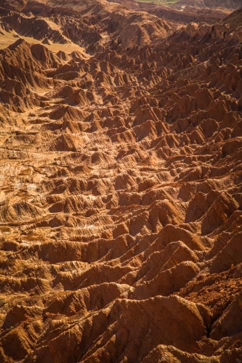 Valle de la Muerte Atacama rock formation