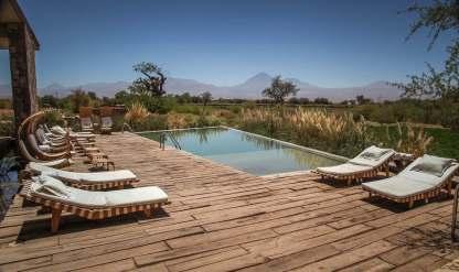 view from pool Tierra Atacama