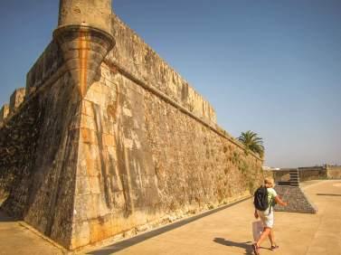 Pestana Cidadela Cascais fort walls