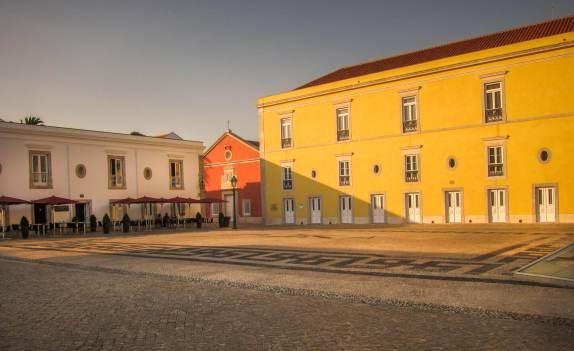 Pestana Cidadela Cascais courtyard
