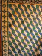 Pena Palace tile patterns