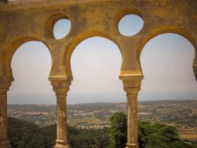 Sintra Palacio da Pena views