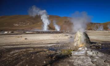 geyser mound El Tatio