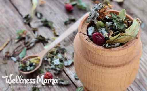 Create your own tea blends for sale to earn a profit from your home garden.