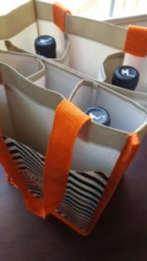 Carry Well Reusable Grocery Bags. Also a wine tote!!! Frogtown Cellars