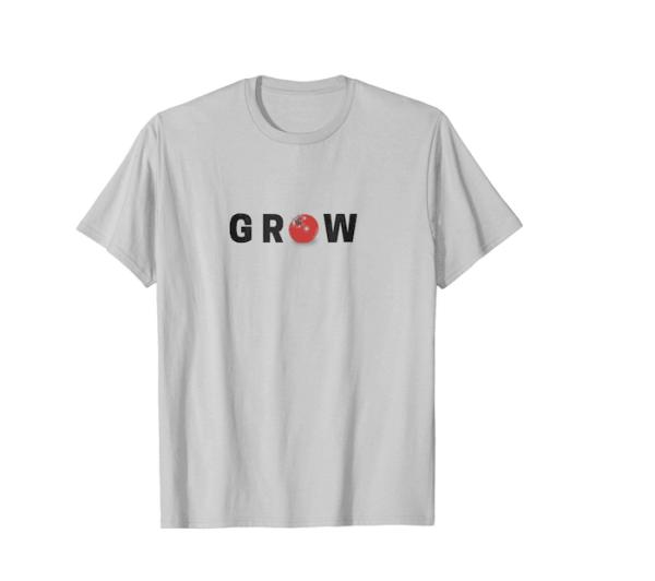 """""""Grow"""" With Tomato """"O"""" T-shirt"""