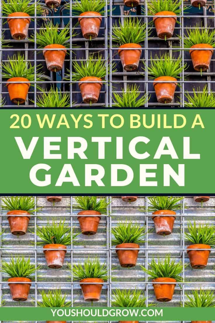 Vertical gardening is not just smart for saving space in your garden, but it's also very attractive! Check out these DIY vertical planters and start growing up today!