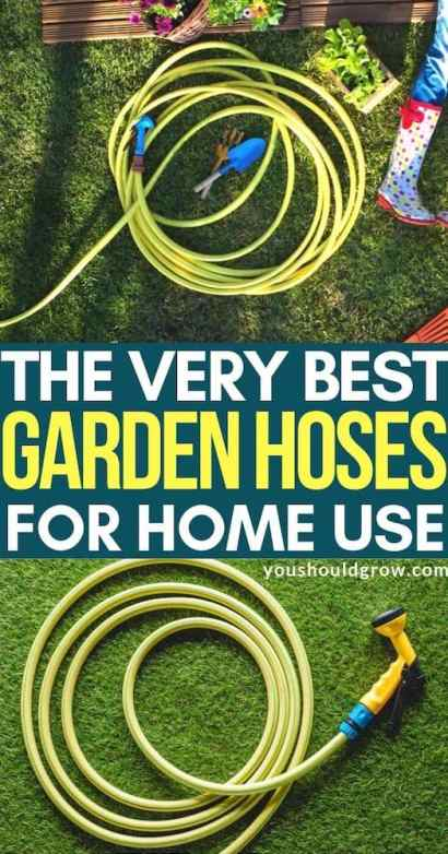 The best garden hoses for home use. Pinterest pin