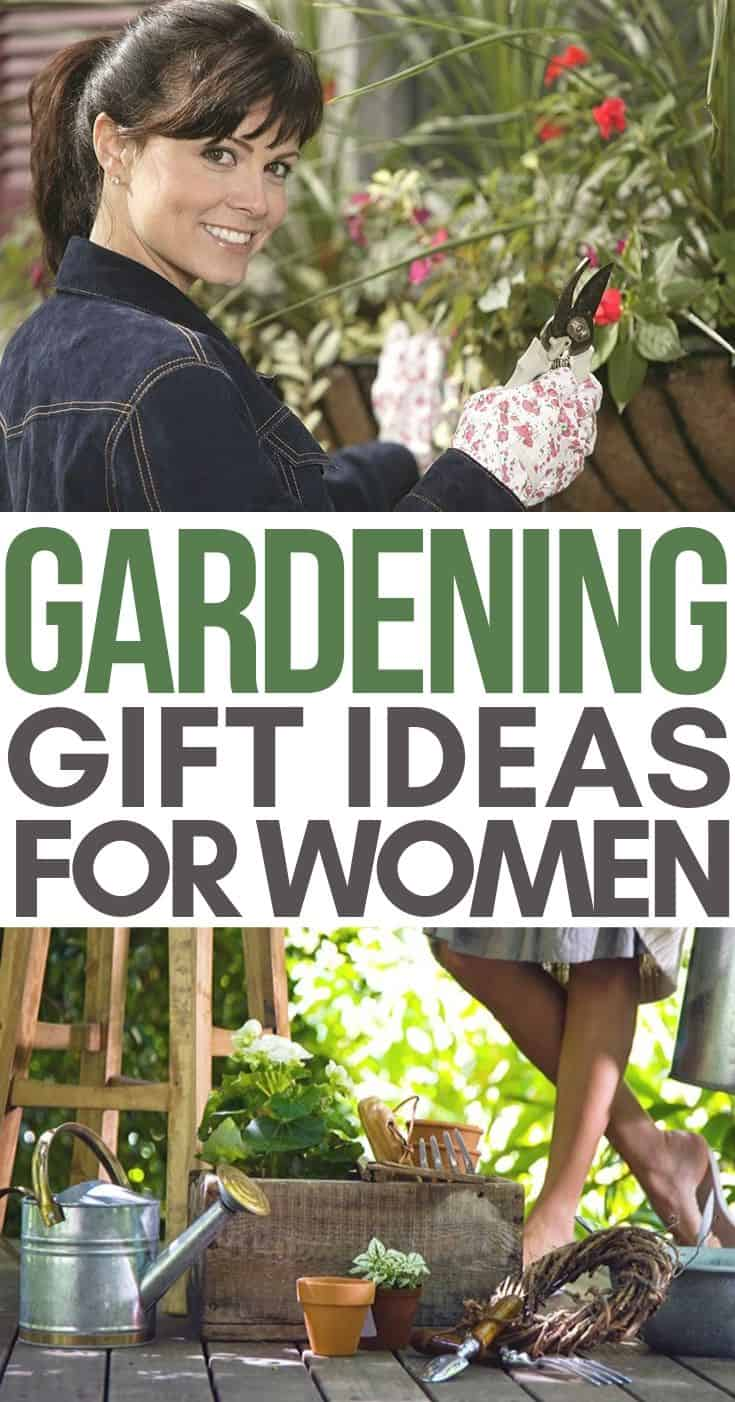 Gift ideas for women who love to garden! She's sure to love these thoughtful and splurge worthy gift ideas.
