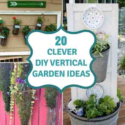 20 Vertical Gardening Ideas: Grow More In Less Space