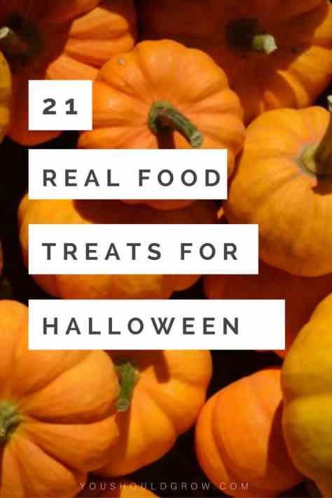 21 real food treats for Halloween