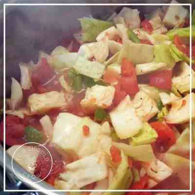 Florida Salad: a cabbage soup recipe