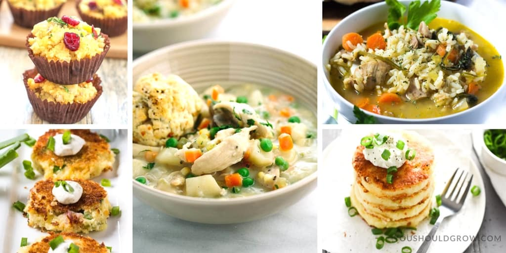 Thanksgiving Leftovers Recipes - Soups & Sides