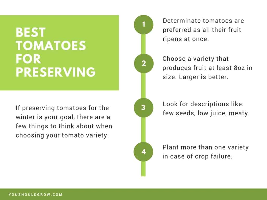 presentation slide: best tomato varieties for preserving