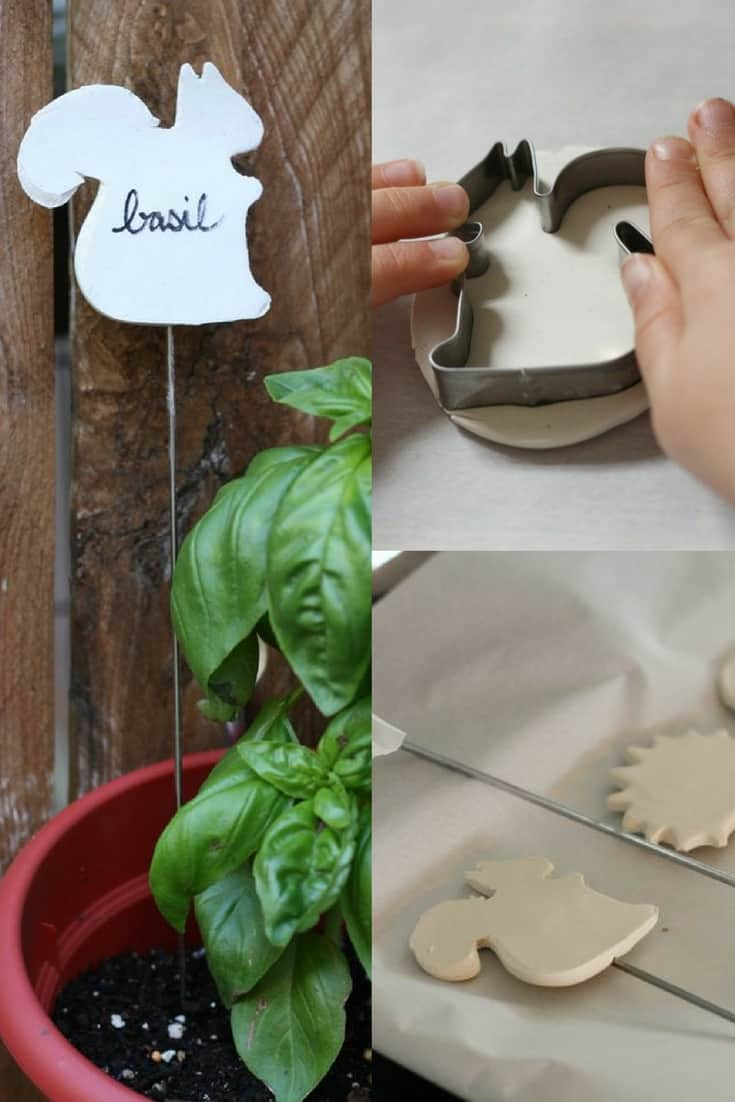 Learn How To Make These Fun Clay Markers At EHow. Ceramic Herb Garden  Markers
