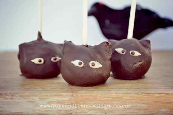 healthy halloween cake pops