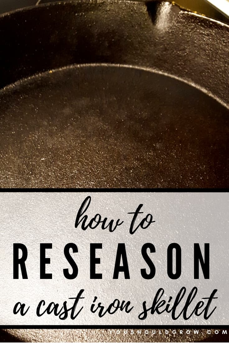 Cast iron skillet care: Reseason a cast iron skillet easily with these 3 steps. Plus tips for cooking, cleaning, and using your cast iron cookware.