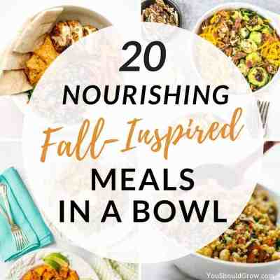 20 Fall-Inspired Meal In A Bowl Recipes