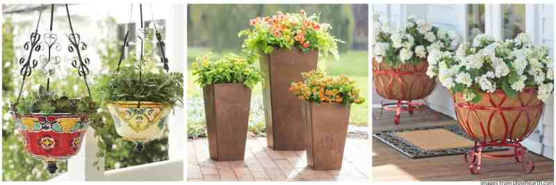 planters are great gifts for moms who garden.