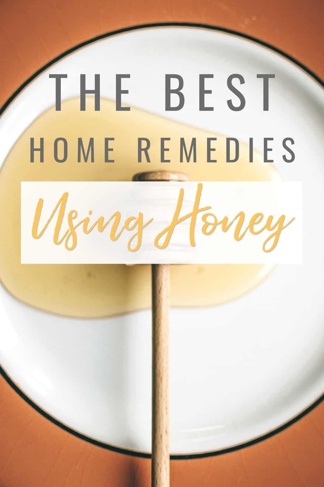 Honey health benefits. Benefits of raw honey. Home remedies using honey healing properties.