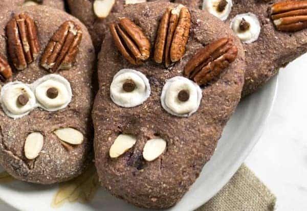 vegan halloween monster treats