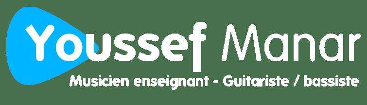 Logo Youssef Manar Musicien enseignant professeur de guitare