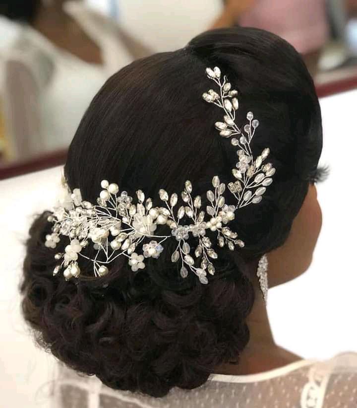 Half braid wedding hairstyles