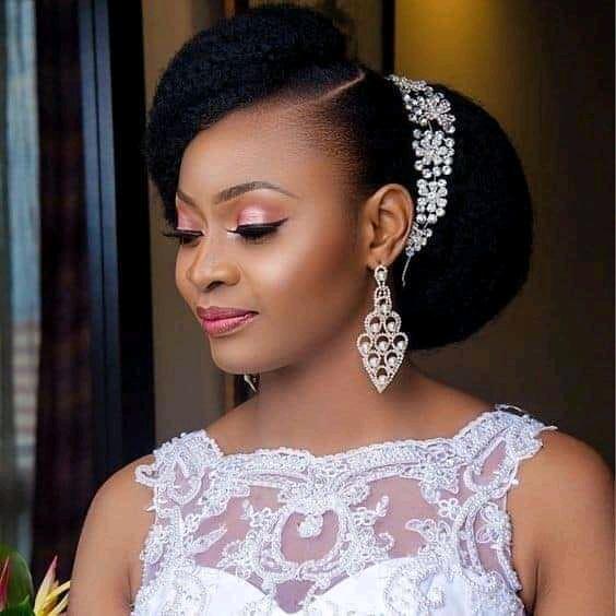 wedding hairstyles for Nigerian brides