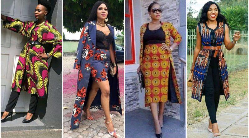 Ankara kimono styles