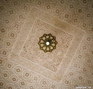 Ceiling - Masjid-e-Qiblatain, Saudi Arabia