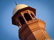 minaret - up close