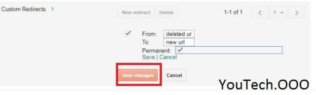 custom-redirects