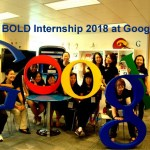 BOLD Summer Internship 2018 at Google