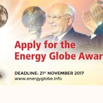 Apply for the Energy Globe Award 2018 in Tehran, Iran