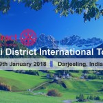 Rotaract Multi District International Tour 2018 in Darjeeling, India
