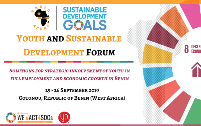 Youth and Sustainable Development Forum 2019 in Cotonou, Benin