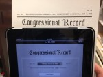 U.S. Federation Recognized In Congressional Record